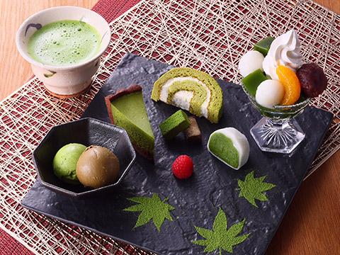 【数量限定】抹茶スイーツプレート
