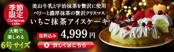 クリスマス限定アイスケーキ