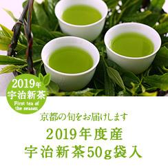 2019 宇治新茶