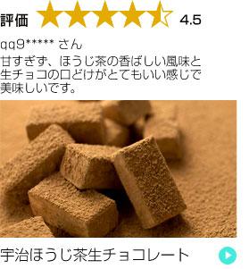 宇治ほうじ茶生チョコレート16粒入