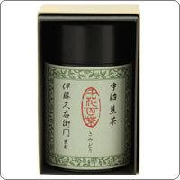 宇治煎茶 さみどり 105g缶入り§【伊藤久右衛門】の画像
